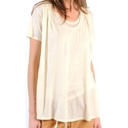 Abbigliamento Donna T-shirt maniche corte American Vintage TOP BEL20E11 NATUREL Beige