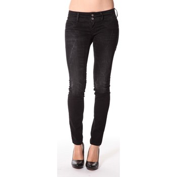 Abbigliamento Donna Jeans slim Meltin'pot Jeans Maryon D1489-UK010 Nero