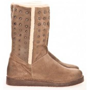 Scarpe Donna Stivaletti Meline Boots NL 80  Beige Beige