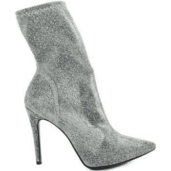 Scarpe Donna Stivali Thc Collections +THC+ COLLECTIONS 4202 SOFT LUREX ARGENTO Argento