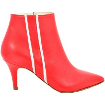Scarpe Donna Stivali Thc Collections +THC+ COLLECTIONS 925 TRONCHETTO ROSSO Rosso