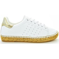 Scarpe Donna Espadrillas Thc Collections +THC+ COLLECTIONS MAR123 ORO Bianco