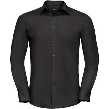 Abbigliamento Uomo Camicie maniche lunghe Russell 924M Nero
