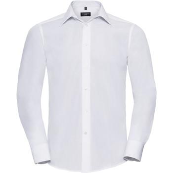 Abbigliamento Uomo Camicie maniche lunghe Russell 924M Bianco
