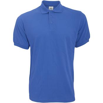 Abbigliamento Uomo Polo maniche corte B And C PU409 Blu reale