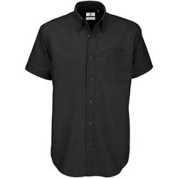 Abbigliamento Uomo Camicie maniche corte B And C SMO02 Nero