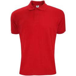 Abbigliamento Uomo Polo maniche corte Sg Polycotton Rosso