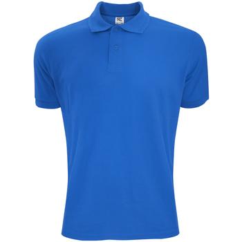 Abbigliamento Uomo Polo maniche corte Sg Polycotton Blu reale