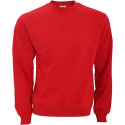 Abbigliamento Uomo Felpe B And C WUI20 Rosso