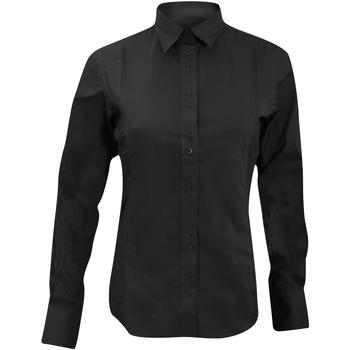 Abbigliamento Donna Camicie Kustom Kit KK388 Nero