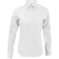 Abbigliamento Donna Camicie Kustom Kit KK388 Bianco