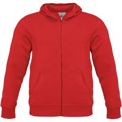 Abbigliamento Uomo Felpe B And C WM645 Rosso