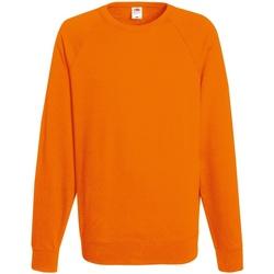 Abbigliamento Uomo Felpe Fruit Of The Loom 62138 Arancio
