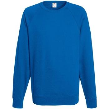 Abbigliamento Uomo Felpe Fruit Of The Loom 62138 Blu reale