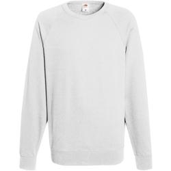 Abbigliamento Uomo Felpe Fruit Of The Loom 62138 Bianco