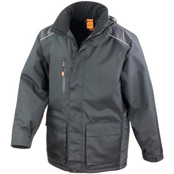 Abbigliamento Uomo giacca a vento Result R305X Nero