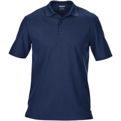 Abbigliamento Uomo Polo maniche corte Gildan 43800 Blu navy