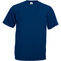 Abbigliamento Uomo T-shirt maniche corte Fruit Of The Loom 61036 Blu navy
