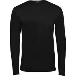 Abbigliamento Uomo T-shirts a maniche lunghe Tee Jays TJ530 Nero