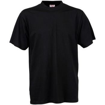 Abbigliamento Uomo T-shirt maniche corte Tee Jays TJ8000 Nero