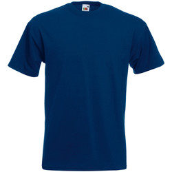 Abbigliamento Bambino T-shirt maniche corte Fruit Of The Loom 61044 Blu navy