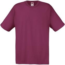 Abbigliamento Uomo T-shirt maniche corte Fruit Of The Loom 61082 Bordeaux