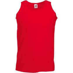 Abbigliamento Uomo Top / T-shirt senza maniche Fruit Of The Loom 61098 Rosso