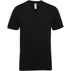 Abbigliamento Uomo T-shirt maniche corte Gildan 41V00 Nero