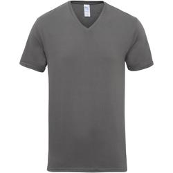 Abbigliamento Uomo T-shirt maniche corte Gildan 41V00 Carbone