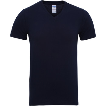 Abbigliamento Uomo T-shirt maniche corte Gildan 41V00 Blu navy