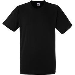 Abbigliamento Uomo T-shirt maniche corte Fruit Of The Loom 61212 Nero