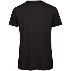 Abbigliamento Uomo T-shirt maniche corte B And C TM042 Nero