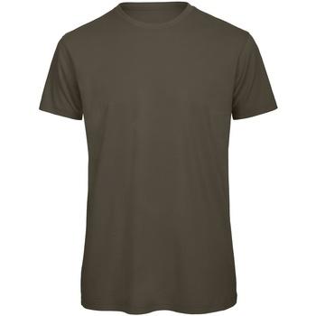 Abbigliamento Uomo T-shirt maniche corte B And C TM042 Polvere