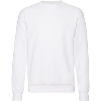 Abbigliamento Uomo Felpe Fruit Of The Loom 62202 Bianco