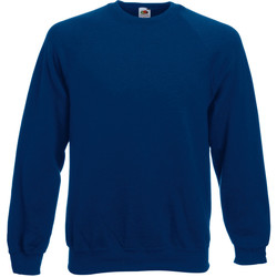 Abbigliamento Uomo Felpe Fruit Of The Loom 62216 Blu navy