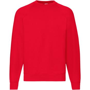 Abbigliamento Uomo Felpe Fruit Of The Loom 62216 Rosso