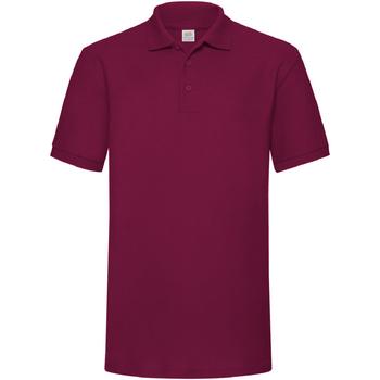 Abbigliamento Uomo Polo maniche corte Fruit Of The Loom 63204 Bordeaux