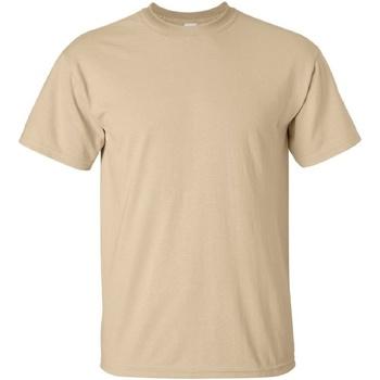 Abbigliamento Uomo T-shirt maniche corte Gildan Ultra Marrone chiaro