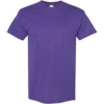 Abbigliamento Uomo T-shirt maniche corte Gildan Heavy Lilla