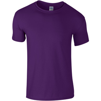 Abbigliamento Uomo T-shirt maniche corte Gildan Soft-Style Viola