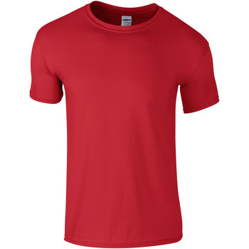 Abbigliamento Uomo T-shirt maniche corte Gildan Soft-Style Rosso
