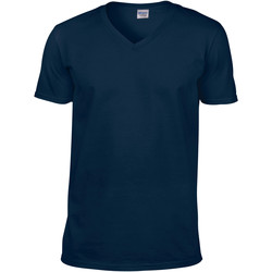 Abbigliamento Uomo T-shirt maniche corte Gildan 64V00 Blu navy