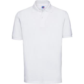 Abbigliamento Uomo Polo maniche corte Russell 569M Bianco