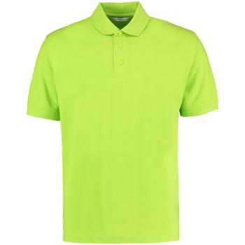 Abbigliamento Uomo Polo maniche corte Kustom Kit KK403 Verde lime