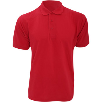 Abbigliamento Uomo Polo maniche corte Kustom Kit KK403 Rosso