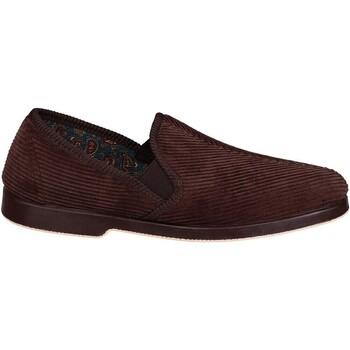 Scarpe Uomo Pantofole Gbs EXETER Marrone
