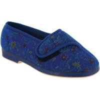 Scarpe Donna Pantofole Gbs WILMA Blu