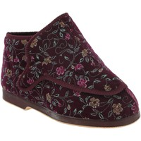 Scarpe Donna Pantofole Gbs Extra Wide Vino rosso