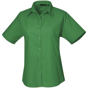 Abbigliamento Donna Camicie Premier PR302 Smeraldo