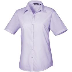 Abbigliamento Donna Camicie Premier PR302 Lilla